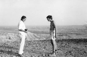 Yves Coppens & Donald Johanson à Hadar / Yves Coppens & Donald Johanson in Hadar