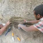 Site DW2s2 (environ 12 ka cal BP) en cours de fouilles / Site DW2s2 (ca. 12 ka cal BP) under excavation (© LSA Sequence project)