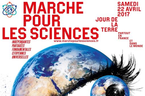 MARCHE POUR LES SCIENCES / MARCH FOR SCIENCE