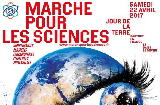 MARCHE POUR LES SCIENCES / MARCH FOR SCIENCE