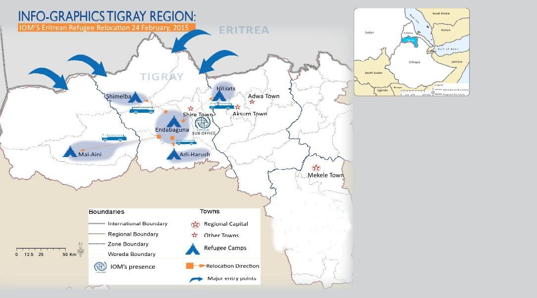 The life of Eritrean refugees in Ethiopia | UN ŒIL SUR LA